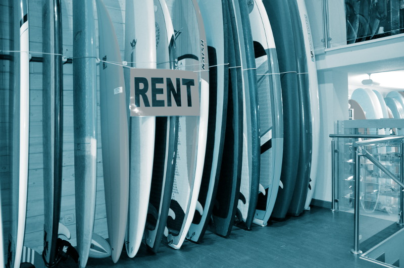 Alquiler tablas surf Zarautz