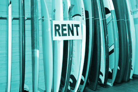 Rent Surfboards Zarautz