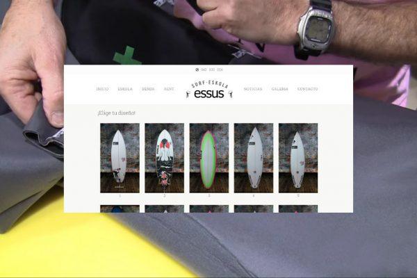 tablas y trajes surf noticia essus surf eskola