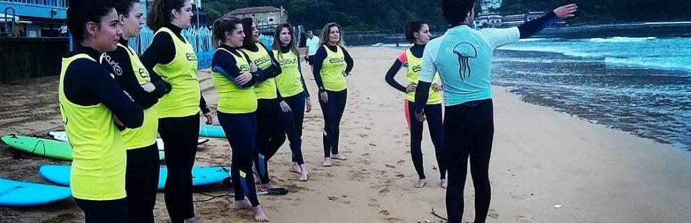 Tarifas clases de surf verano 2021