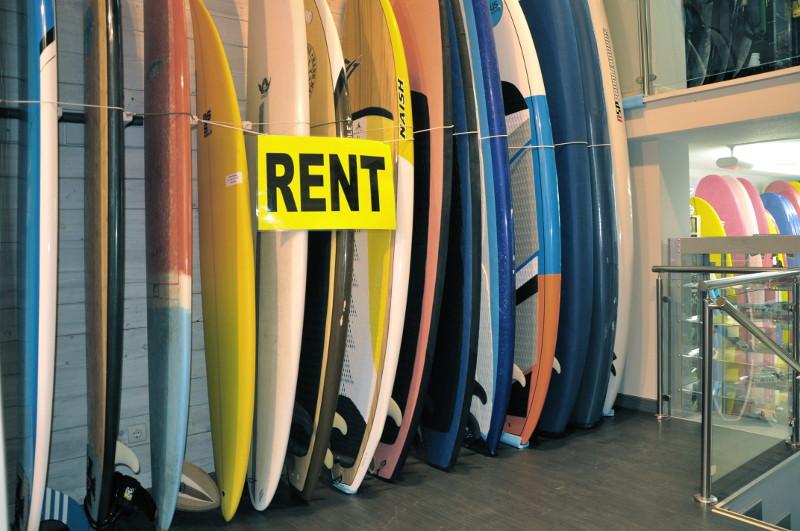 Alquiler tablas de surf Zarautz